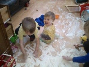 making-a-mess